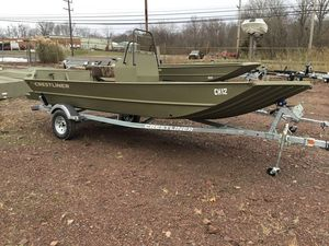 New Crestliner 1860 Retriever CC tunnel1860 Retriever CC tunnel Center Console Fishing Boat For Sale