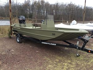 New Crestliner 1870 Retriever FCC1870 Retriever FCC Center Console Fishing Boat For Sale