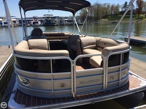 Used Xcursion X-23C Pontoon Boat For Sale