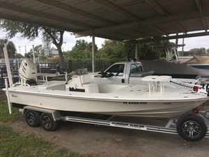 Used Maverick 21 Master Angler21 Master Angler Flats Fishing Boat For Sale