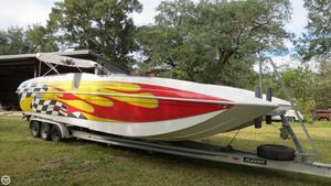 Used Advantage 34 Party Cat TRX High Performance Boat For Sale