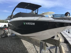 Used Scarab 215 HO Sports Fishing Boat For Sale