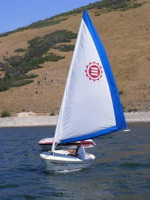 Used Solare Expo Solar Sailer Daysailer Sailboat For Sale