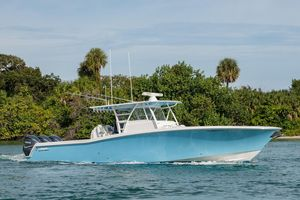 Used Invincible Center Cabin Sports Fishing Boat For Sale