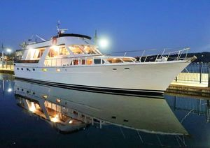 Used Monk Mcqueen Flushdeck Motor Yacht For Sale