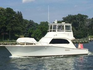 Used Post 43 FT Sport Fisherman Saltwater Fishing Boat For Sale