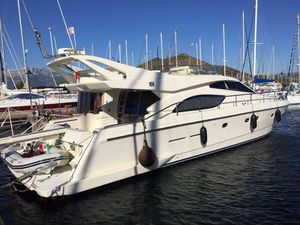 Used Ferretti Yachts 53 Flybridge Boat For Sale