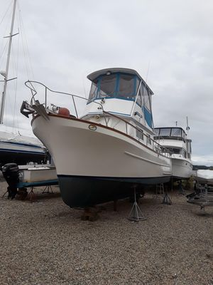 Used Ct 35 Trawler Boat For Sale