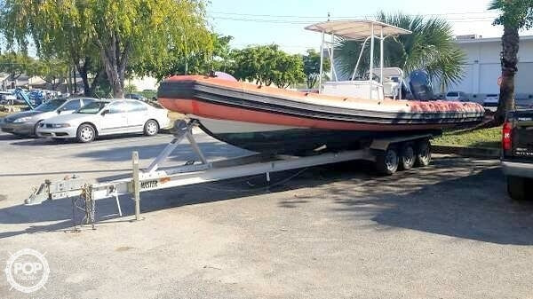 Used Sea Ark 26 Inflatable Boat For Sale