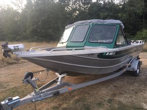 Used Thunderjet Sportsman 20 Freshwater Fishing Boat For Sale