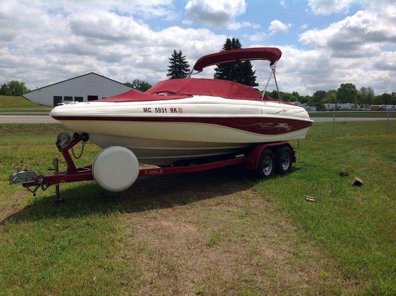 Used Rinker 210 Captiva Bowrider Boat For Sale