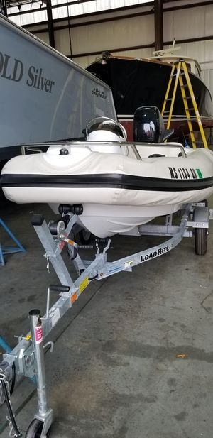 Used Mercury M350 Rigid Sports Inflatable Boat For Sale