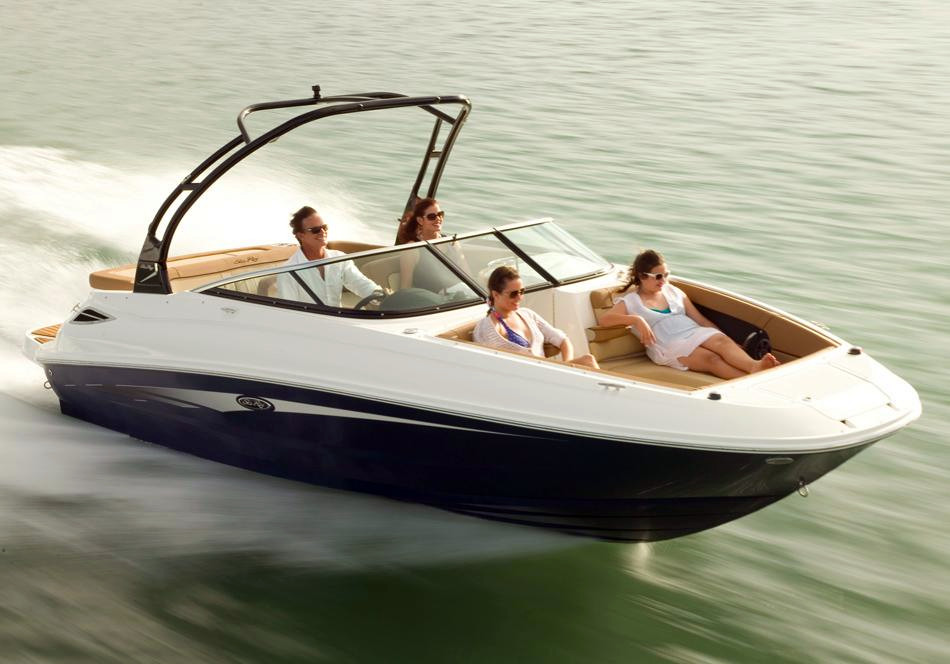 New Sea Ray 240 Sundeck 11302 Deck Boat For Sale