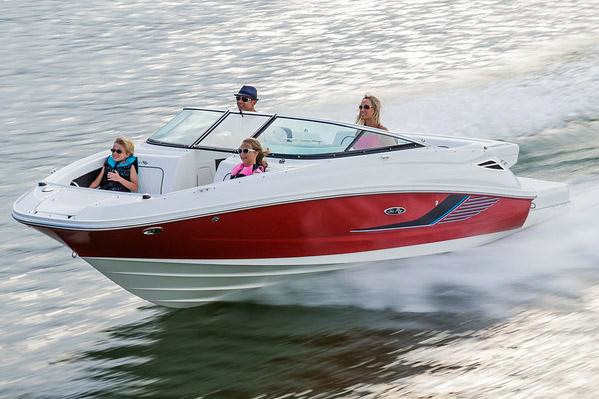 New Sea Ray 220 Sundeck 11306 Bowrider Boat For Sale