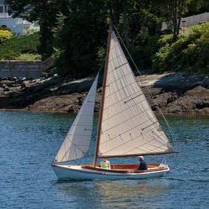 Used Herreshoff Buzzards Bay 14 Daysailer Sailboat For Sale