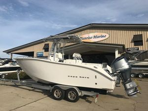 Used Cape Horn 22 Center Console Fishing Boat For Sale