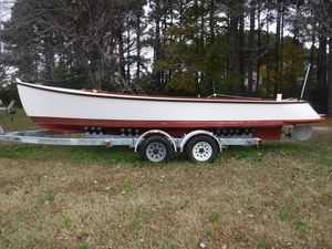 Used Custom Ducktail Workboat Commercial Boat For Sale