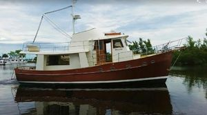 Used Krogen Design Custom Trawler Boat For Sale