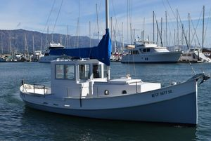 Used Custom Monterey Style Trawler Boat For Sale
