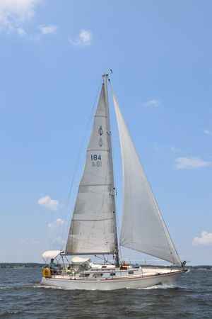 Used Bristol 35.5 C/B Cruiser Sailboat For Sale