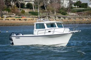 Used Parker 2520 Deep Vee Sport Cabin2520 Deep Vee Sport Cabin Saltwater Fishing Boat For Sale