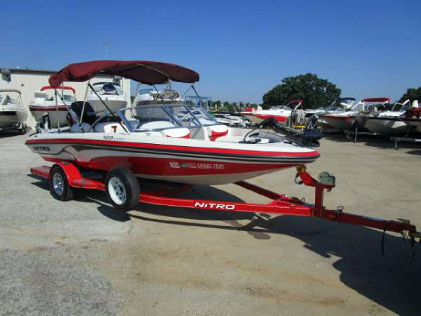 2007 used nitro 189 sport ski and fish boat for sale for Fish and ski boats for sale