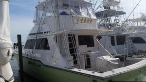 Used Ricker 48 Convertible Sports Fishing Boat For Sale