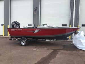 New Crestliner 1700 Vision1700 Vision Aluminum Fishing Boat For Sale