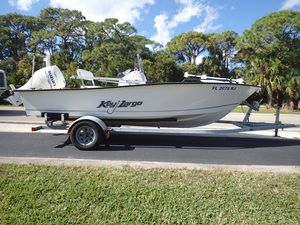 Used Key Largo 180CC180CC Center Console Fishing Boat For Sale