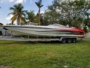 Used Motion Marine 35 Power Catamaran Boat For Sale