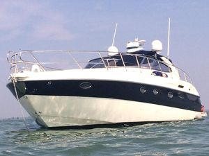Used Cranchi 50' Mediterranee Express Cruiser Boat For Sale
