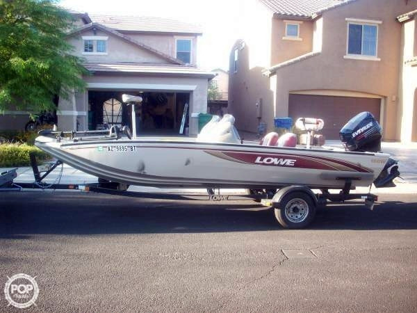 Used Lowe 180W Stinger Bass Boat For Sale