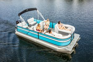 New Crest I 220 SLRDI 220 SLRD Pontoon Boat For Sale