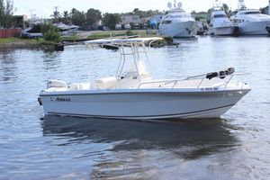 Used Angler 220F220F Center Console Fishing Boat For Sale