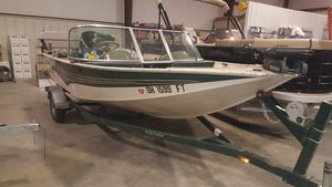 Used Odyssey V 170 DCV 170 DC Aluminum Fishing Boat For Sale
