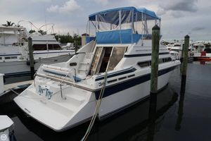 Used Carver Santego 3467 new engines 45 hrs. Aft Cabin Boat For Sale