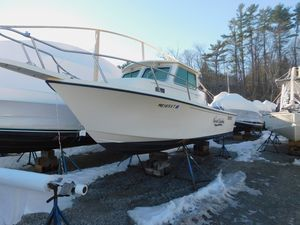 Used Parker 2320 SL Sport Cabin Pilothouse Boat For Sale