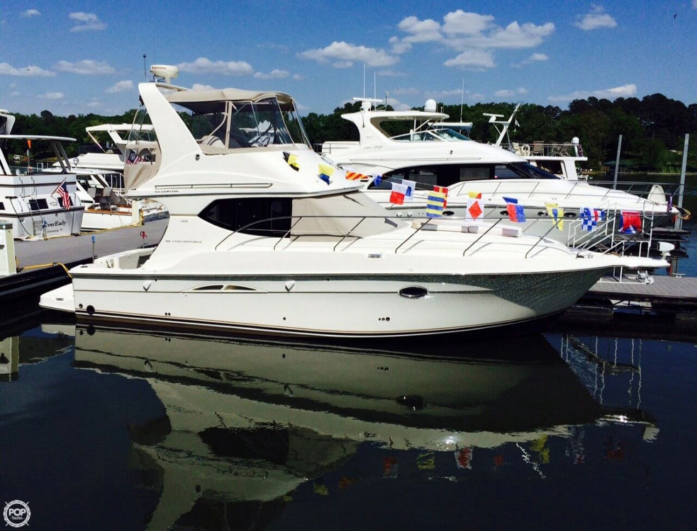 Used Silverton 36 Convertible Express Cruiser Boat For Sale