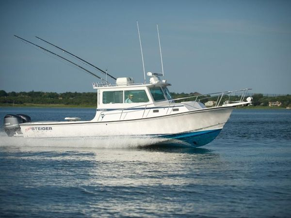 New Steiger Craft 31 DV Miami Pilothouse Boat For Sale