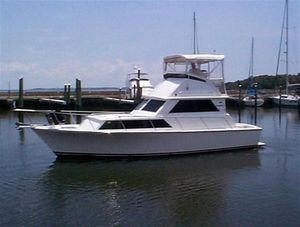 Used Bertram Custom Caribe Flybridge Boat For Sale