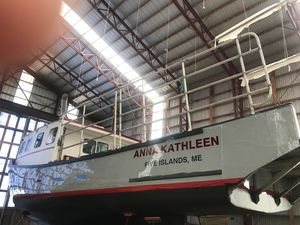 Used Custom Wedgeport Lobster Boat Commercial Boat For Sale