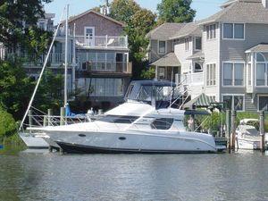 Used Silverton Sedan Bridge Convertible Fishing Boat For Sale