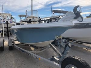 Used Carolina Skiff 19 Sea Skiff Center Console Fishing Boat For Sale
