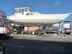 Used Columbia Custom Offshore Motorsailer Sailboat For Sale