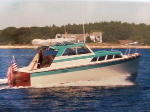 Used Pacemaker Sedan Hardtop Cruiser Downeast Fishing Boat For Sale