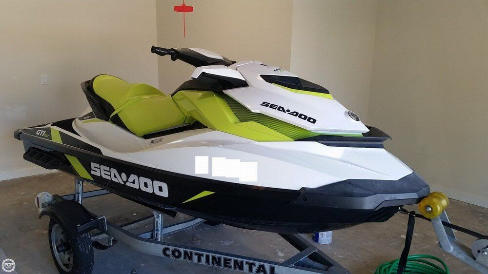 2016 Used Sea-Doo GTI-130 Personal Watercraft For Sale
