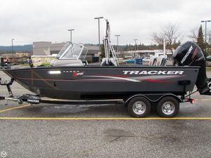 Used Tracker Targa V20 Aluminum Fishing Boat For Sale