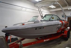 Used Sanger 215 XTZ215 XTZ Deck Boat For Sale