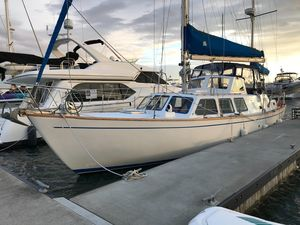 Used Cal 2-46 Ketch Center Cockpit Sailboat For Sale