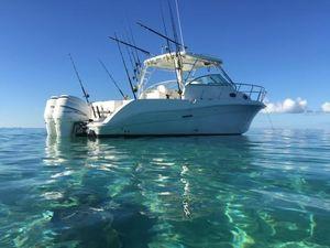 Used Seaswirl Striper 290290 Saltwater Fishing Boat For Sale